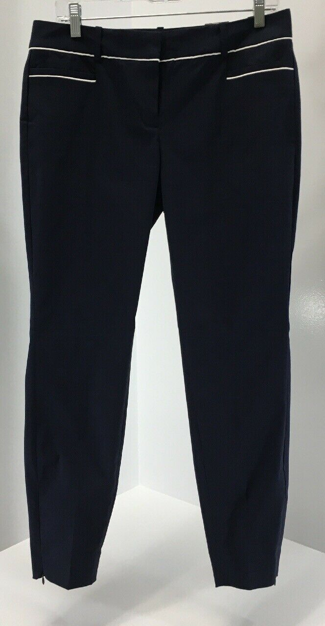 The Limited Womens Exact Strech Skinny Leg Pants Navy bluee Size US 8 NWT