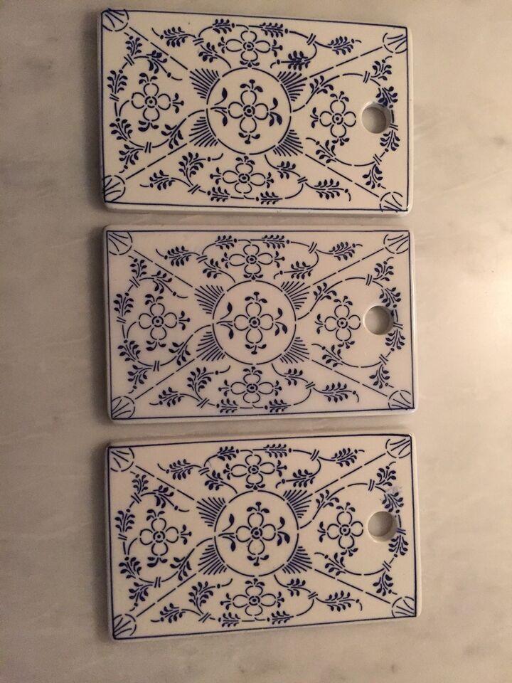 Porcelæn, Musselmalet Smørebrikker, Wittenberg