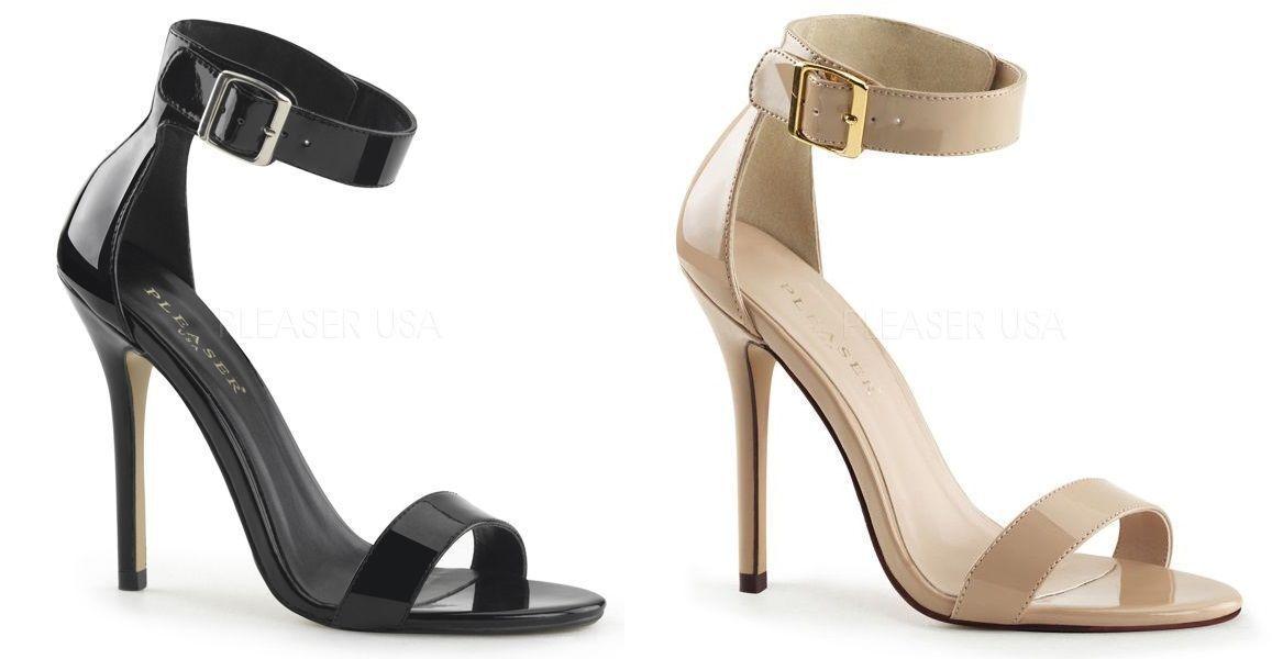 design semplice e generoso PLEASER Spillo 5  AMUSE 10 tacco alto scarpe sandali sandali sandali cinturino alla caviglia donna  godendo i tuoi acquisti