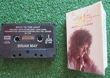 "BRIAN MAY ""Back to the light"" ORIGINAL 1992 CASSETTE Venezuela NO LP QUEEN"