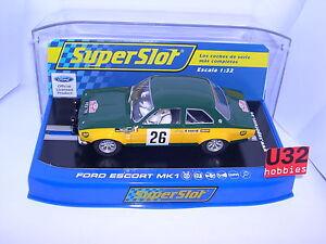 Impartial Bestellung H3635 Ford Escort Mki #26 Monte Carlo 1970 J.f.piot Scalextric Uk Mb Finely Processed Elektrisches Spielzeug Spielzeug