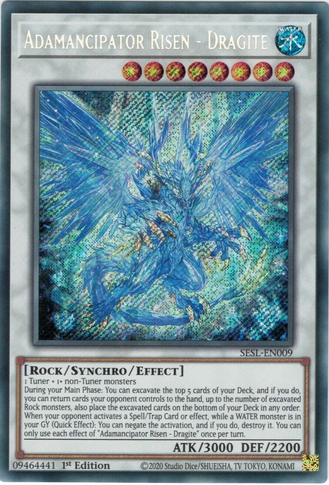 Secret Slayers Sesl-De Cards Selection NEW Yu-Gi-Oh 1 Edition