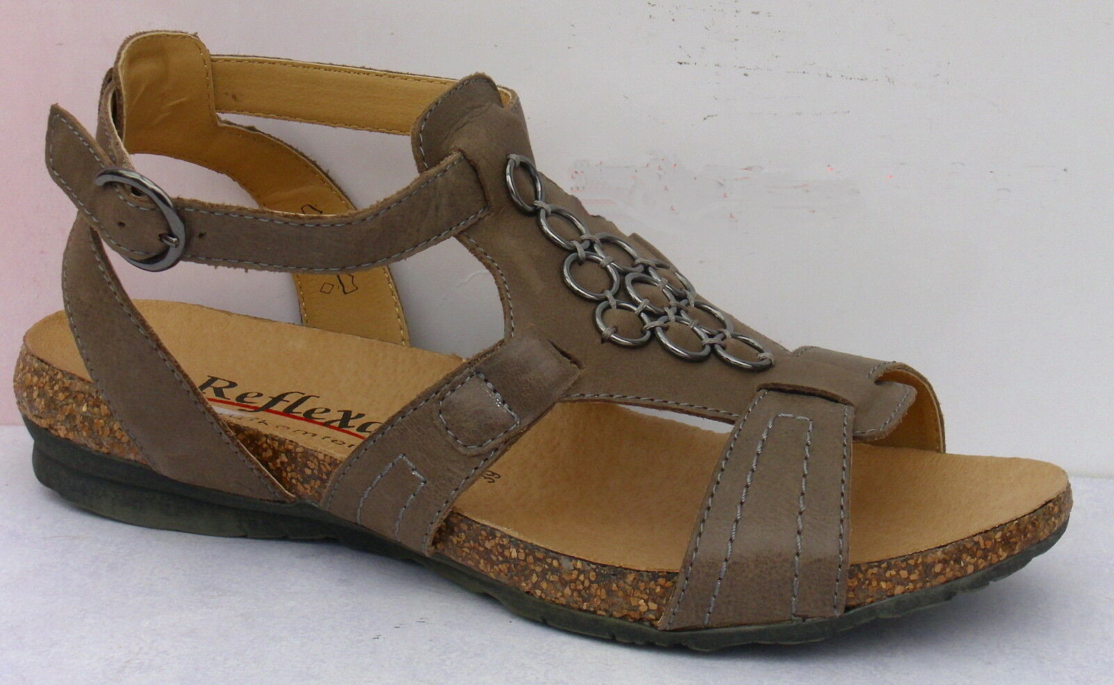Reflexan  SCHUHE DAMEN SCHUHE Sandale, Ledert,   +++NEU+++