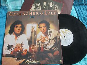 Gallagher-Lyle-Showdown-A-M-Records-AMLH-68461-UK-Vinyl-LP-Album