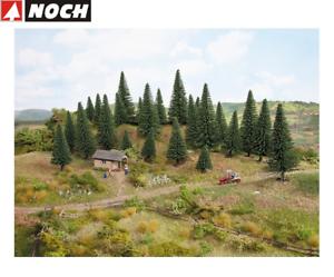 NOCH-26930-Fir-Trees-5-14-CM-High-10-Piece-New-Boxed