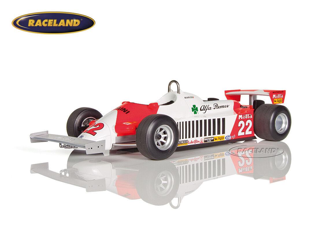 Alfa Romeo 179d v12 f1 9 ° GP Allemagne 1981 Mario Andretti,   Smart 1:18 | Moins Cher  | Vente  | Service Supremacy