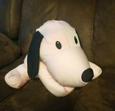 "22 Moshi Cow Microbead Nylon Squishy Pillow 13/"" Plush Black White Toy"