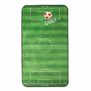 Football-Sol-Tapis-Velours-Rouge-Doux-Garcons-Chambre-60cm-x-110cm