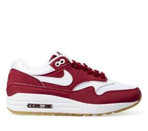 new arrival f9bcc a9c69 Image is loading WMNS-NIKE-AIR-MAX-1-319986-608-RED-