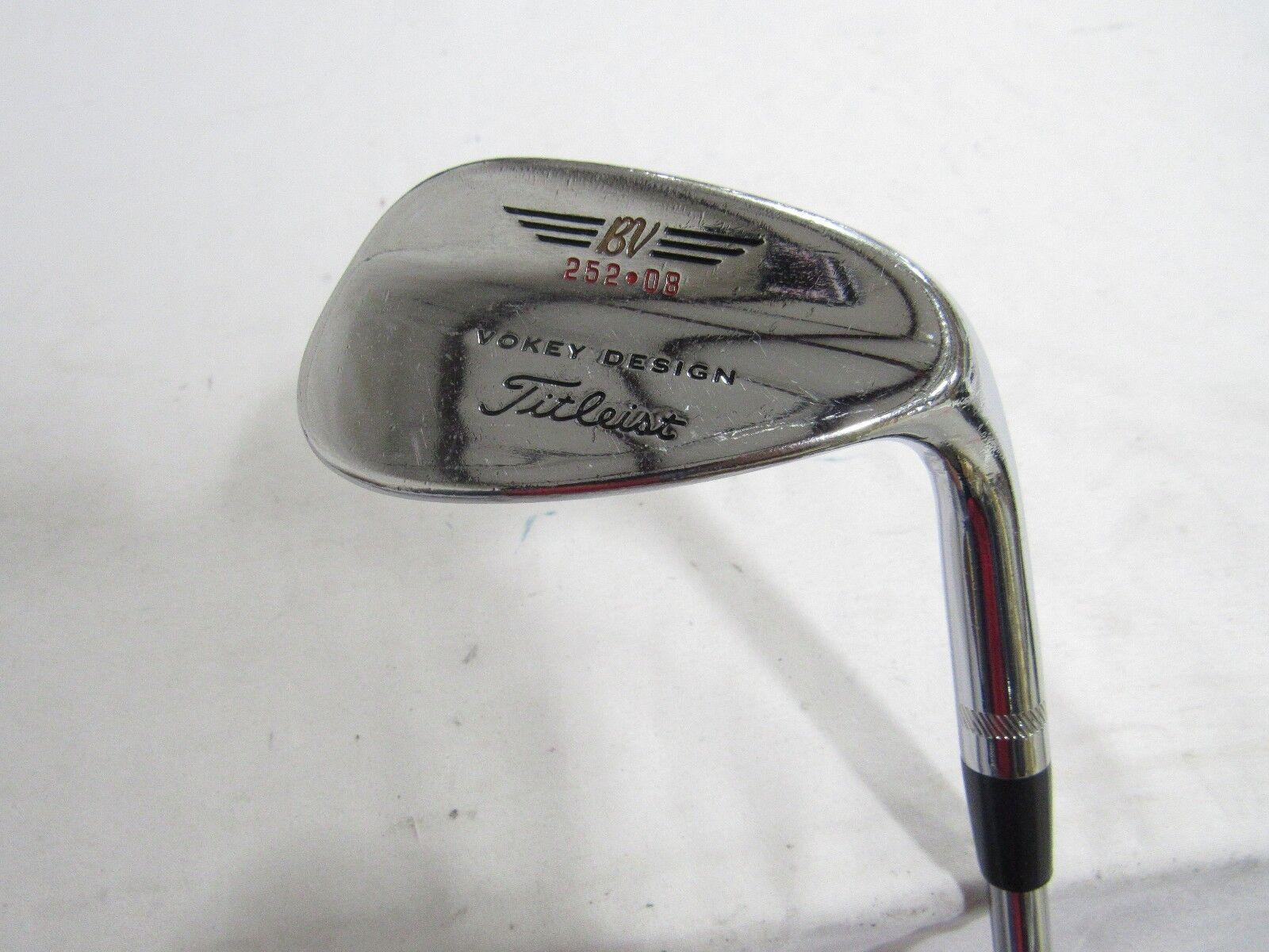 Titleist Vokey Design 200 Series 52 Gap Wedge 252.08 DG Wedge flex Steel RH