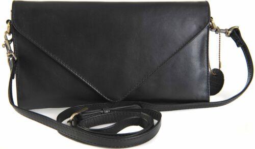 GIGI Othello Women/'s Leather Clutch Envelope Shoulder Handbag Bag 8361 BNWT