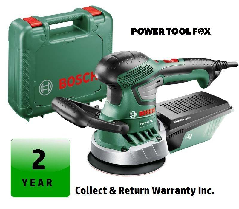 SALE - Bosch PEX400AE Expert Corded RandomOrbit Sander 06033A4070 3165140594455D