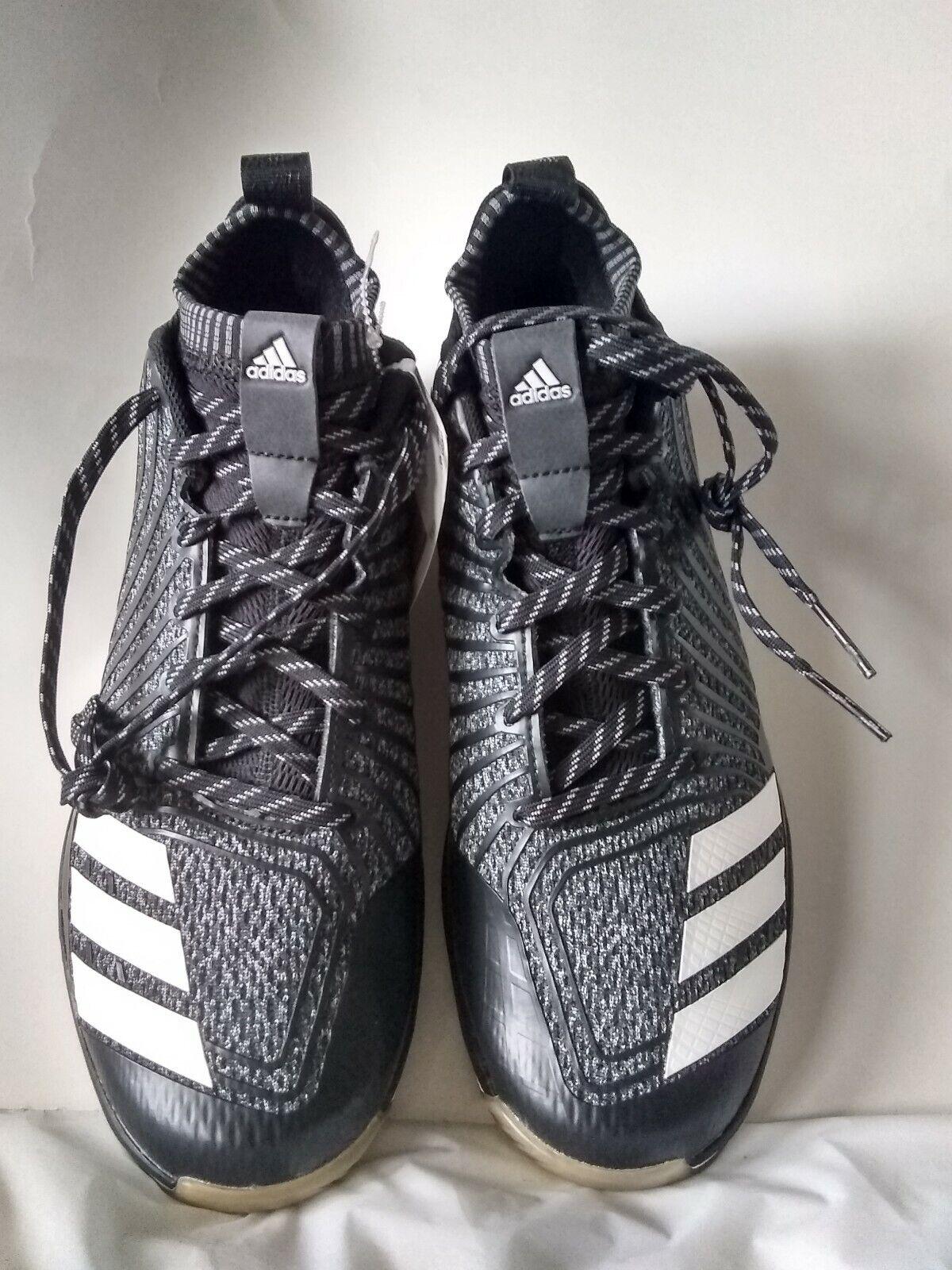 Adidas Icon Trainer AC 8472 Onix  white black Running Shous men's US 10