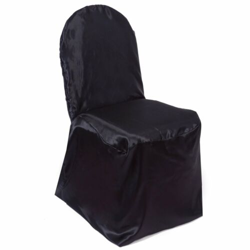 Satin Banquet Chair Covers Wedding Reception Party Decorations 3 Colors!