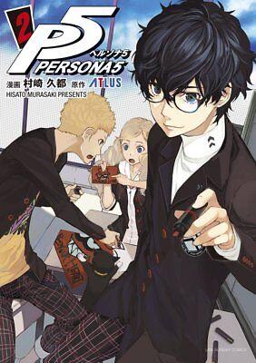 Persona 5 2 Japanese Comic Manga Game P5 Akira Kurusu Ebay