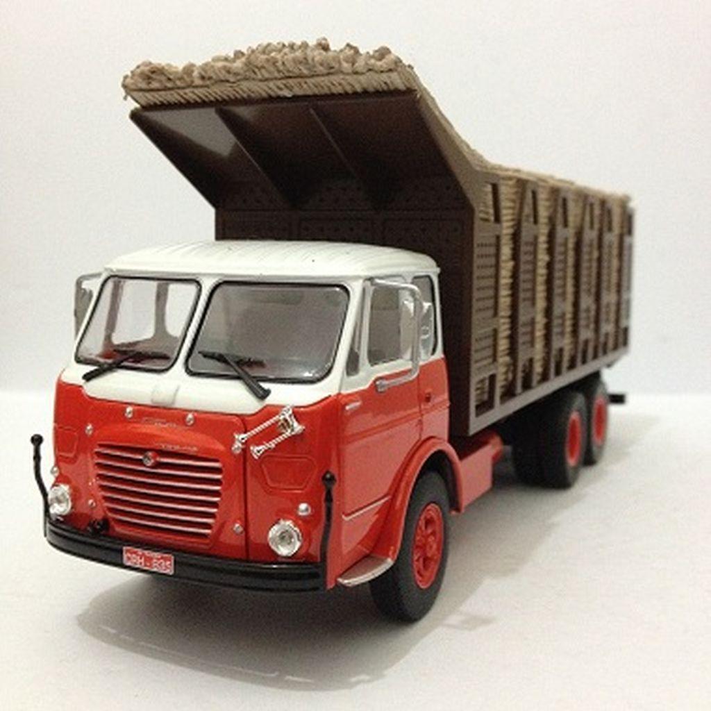 Camiones clásicos de Brasil-Alfa FNM 180 210 caña de azúcar transporte-Ixo Altaya