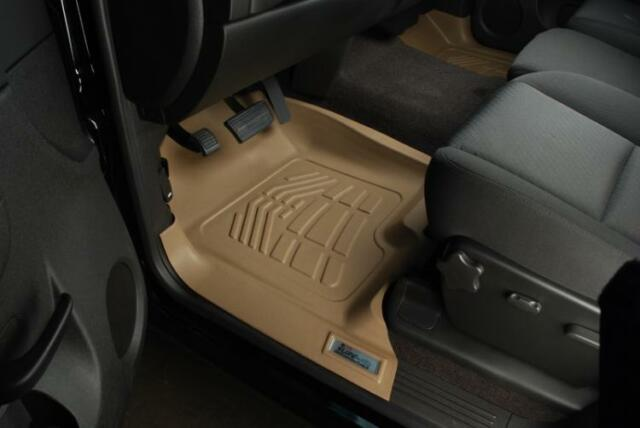 1999-2007 Ford F-250 350 Super Duty Husky Classic Style 2nd Row Tan Floor Liner
