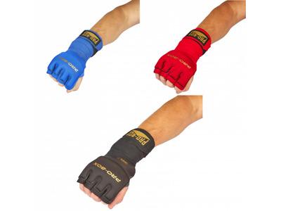 Pro Box Boxing Super Inner Glove Wraps Black-Gold Red Blue Fuchsia