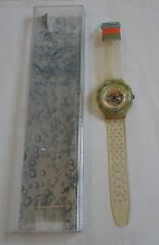 "Uhr Armbanduhr "" Swatch Jelly Bubbles "" 1991 / 1992  -- Super Zustand !!!"