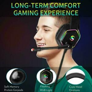 3.5mm K15 Gaming Headset LED Mic