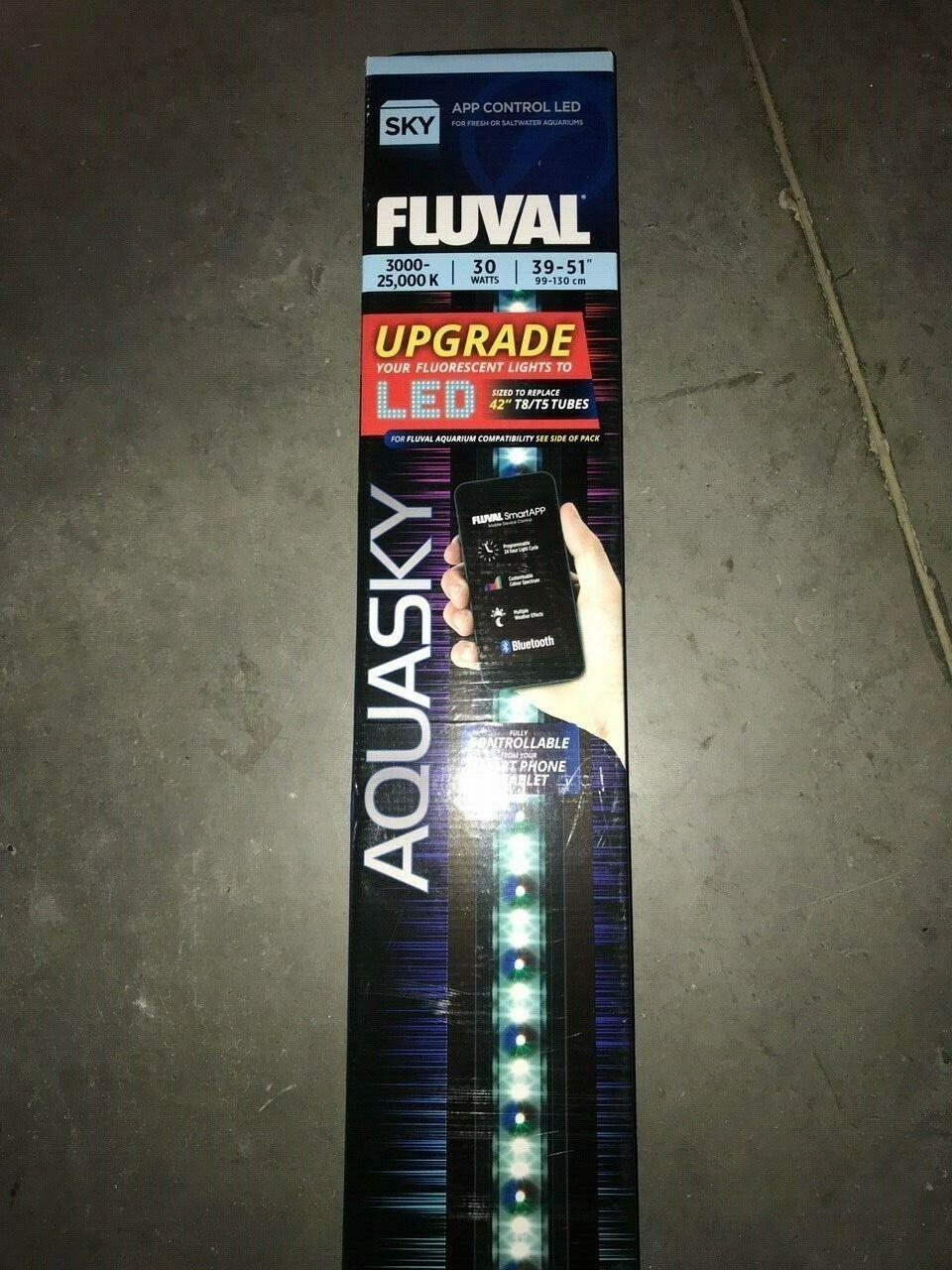 Brand new and sealedFluval LED Aquasky 30 W, 99 – 130 cm+ REMOTE LED LIGHT