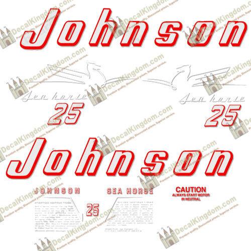 Johnson 1954 Vintage Outtavola Engine Decals Multiple Styles 3M Marine Grade