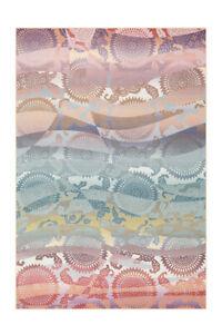 Arte Espina Teppich Retro Scandi Design Kreis Muster Bunt Rosa Gelb 40x60cm