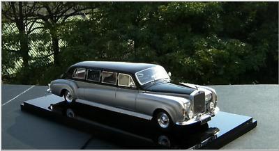 Rolls Royce Limo >> 1 43 Rolls Royce Silver Cloud Limousine 1962 Black Silver 726855303652 Ebay