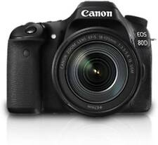 Canon 80D DSLR Camera Body with 18-135 IS USM  (Black)