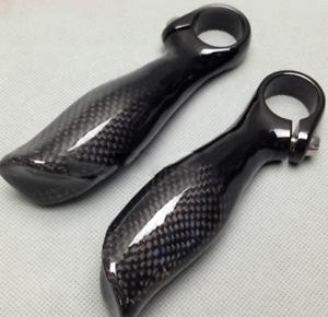 MTB Mountain Bicycle Bike Handlebar Grip Carbon fiber Handlebar Bar End Grip
