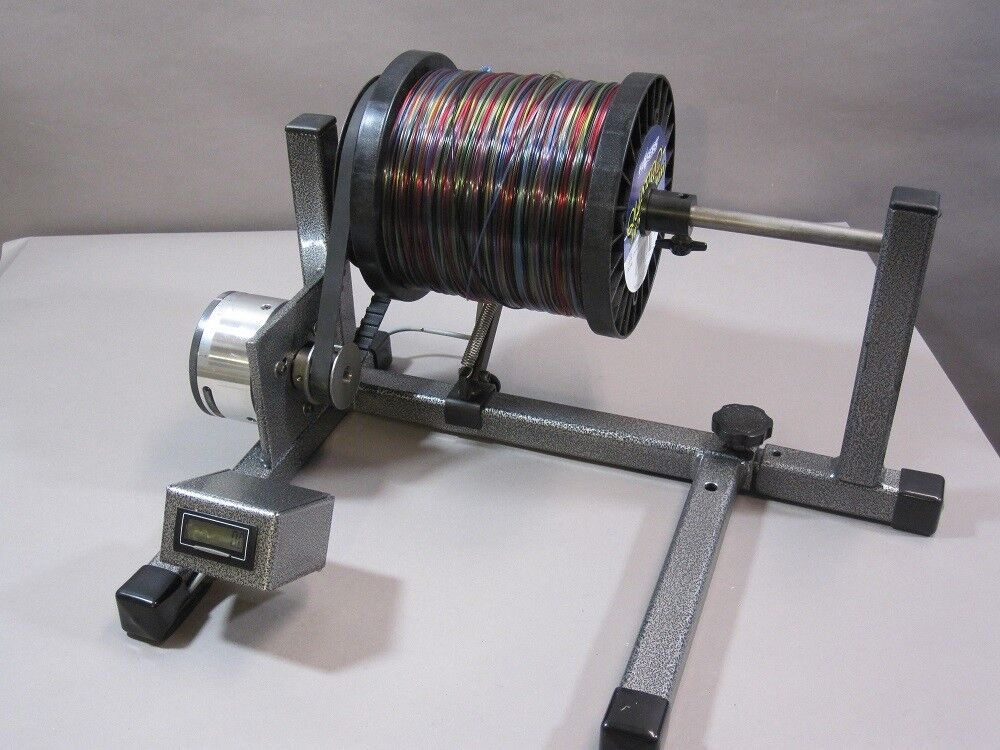 Spool holder with Mag brake for line winding with drag and reel winding