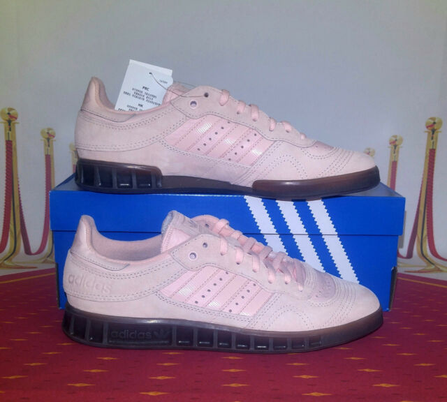 adidas Originals Handball Top Shoes Mens Size 12 Athletic Pink Suede Gum Soles