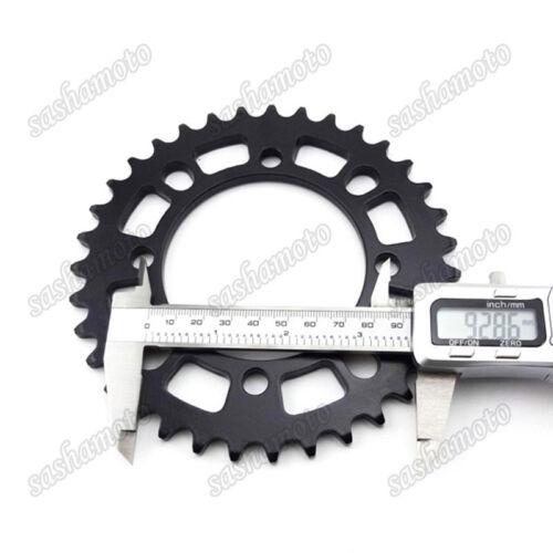 420 76mm 35T Rear Sprocket For 50cc 90 110 125 140cc SDG Hub Wheel Pit Dirt Bike