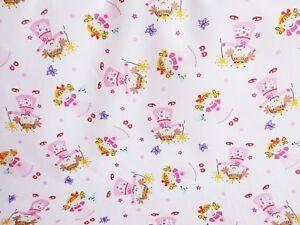 Bundle Remnant Polycotton Fabric 75 cm x 100 cm PINK  Patchwork Checked Piece