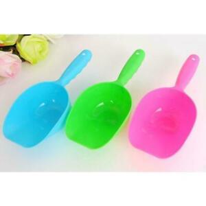 Pet-Foods-Spoon-Scoop-Tool-Dog-Cat-Small-Plastic-Food-Feeder-Shovel-Neu-X2H6