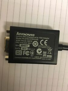 IBM-Lenovo-Thinkpad-X1-Mini-Displayport-DP-a-VGA-Adaptador-STM-STDP-3100