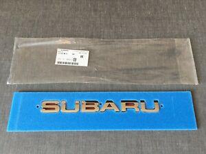 Subaru Genuine Chrome Rear Emblem Badge for Forester