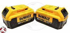 2 New DeWALT DCB204 4.0 Ah 20V MAX Premium XR Lithium Ion Battery Pack Li-Ion*