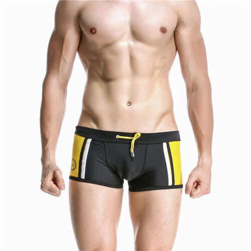New Mens Swimming trunks boxer Swimwear Shorts Beach boy wear size S-XL SEOBEAN
