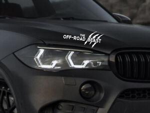 The-Offroad-Beast-Auto-Aufkleber-SUV-Limited-Edition-Sticker-Tuning-4x4-Allrad