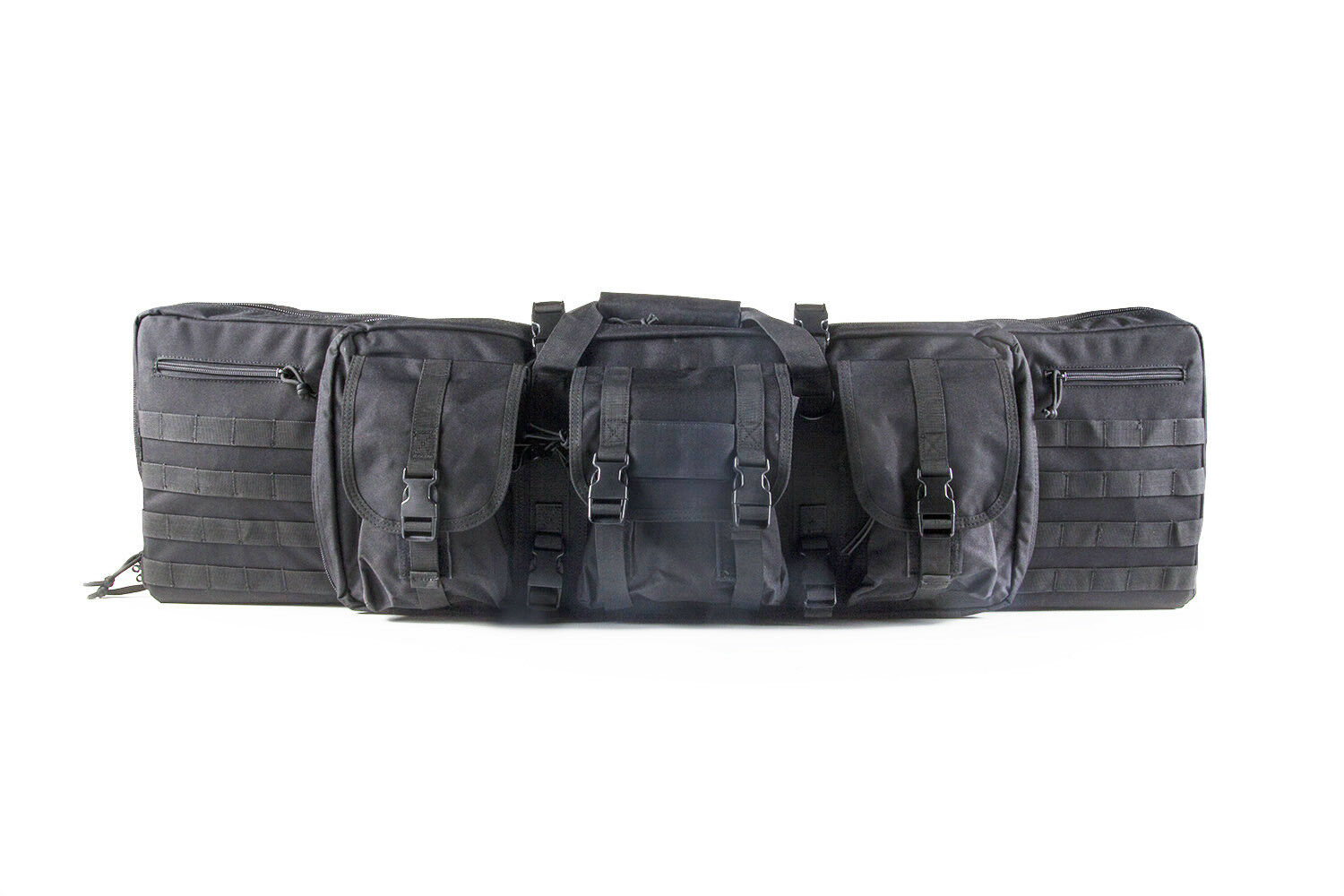 D3FYSPORTS Double Tactical Rifle Case 42  High Quality 1 Year Warranty