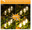 48FT Dimmable LED Outdoor String Lights for Patio with Remotes Waterproof LED E