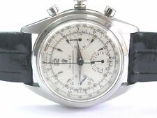 1952 Vintage Rare Rolex Anti Magnetic Chronograph Model 6034 Watch