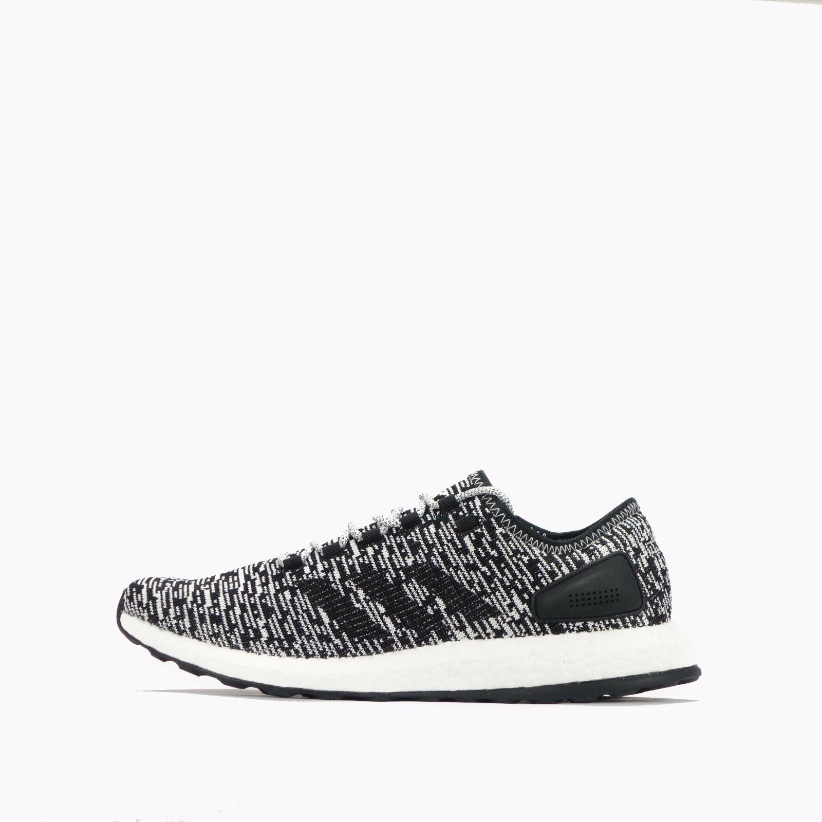 Adidas Pure Boost Mens Running Shoes Core Black/White