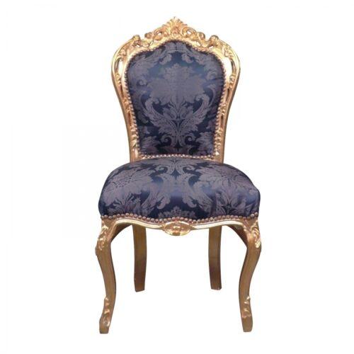 Htdeco Chaise baroque Fauteuil Louis XV