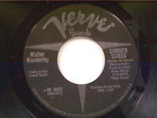 "WALTER WANDERLEY ""SUMMER SAMBA / CALL ME"" 45"