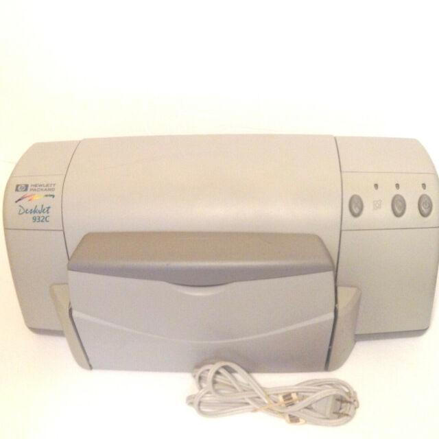 HP Deskjet 932C Standard Inkjet Printer C6427B