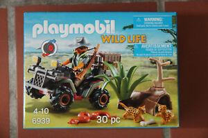 Playmobil 6939 Abenteuer Wilderer mit Quad