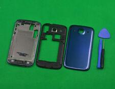 Blue Housing Middle Frame+Front+Battery Cover For Samsung GT-i8262 i8260