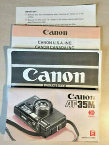 Canon-AF35M-Products-Guide-amp-Instruction-Manual